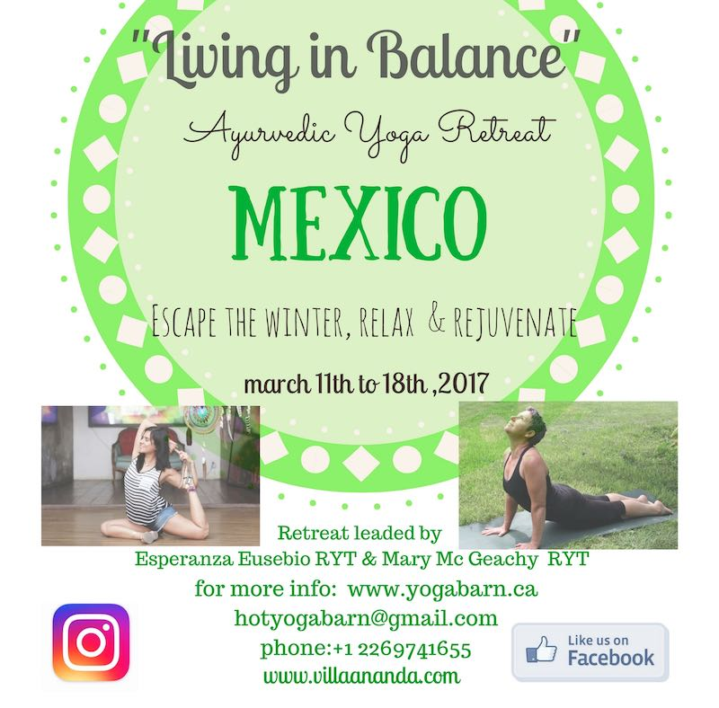 Living in Balance . Ayurvedic Yoga Retreat